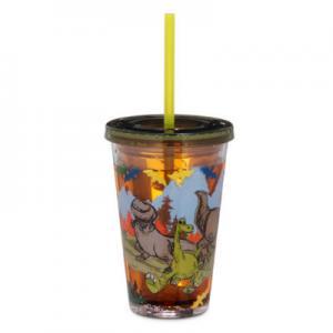แก้วน้ำเด็กน้ำล้อม The Good Dinosaur Tumbler with Straw [USA]