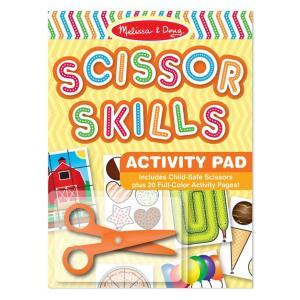 ชุดฝึกตัดพร้อมกรรไกร Melissa and Doug Scissors Skills Activity Pad
