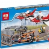 เลโก้จีน LEPIN 02007 ชุด City Airport Air Show