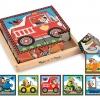 บล๊อคไม้ Vehicles Puzzle Cube