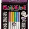 สมุดระบายสีแบบพกพา Melissa and Doug Magic Velvet - บัลเล่ห์