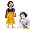 ตุ๊กตาตัวนิ่มเจ้าหญิง Snow white ขนาด 21 นิ้ว [Disney USA]
