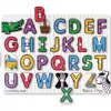 กระดานไม้ABC Melissa and doug See-inside Peg Puzzles - Alphabet