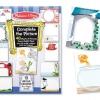 สมุดระบายสีเล่มใหญ่ Melissa and Doug Jumbo Complete The Picture Pads