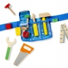กระเป๋าเครื่องมือช่างพร้อมเครื่องมือสำหรับเด็ก Deluxe Tool Belt Set