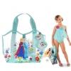 กระเป๋าใส่อุปกรณ์ว่ายน้ำสำหรับเด็ก Frozen Swim Bag USA