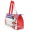 กระเป๋าใส่ของ Minnie Mouse Zippered Reusable Tote