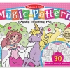 Magic Pattern Marker Coloring Pad – Pink