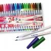 ปากกาสีน้ำ ตราม้า 24 สี H-110