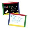 กระดานแม่เหล็ก ABC และไวท์บอร์ด Magnetic Chalk/Dry Erase Board Set