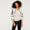 ZARA SHORT TUNIC WITH EMBROIDERY