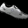 รองเท้าจักรยานเสือหมอบ Shimano RC7 พื้นคาร์บอน สีขาว