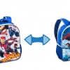 กระเป๋าเป้ 16 นิ้ว Captain America Civil War Reversible Backpack [USA]