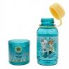 กระติกน้ำพร้อมที่ใส่ขนม Anna and Elsa Snack Bottle [USA][p]