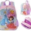 กระเป๋าเป้เด็ก Disney Princess Light-Up Backpack [USA]