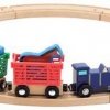 รถไฟพร้อมราง Melissa and doug Farm Animal Train Set