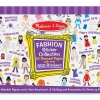 Melissa & Doug Sticker Collection - Fashion สมุดสติกเกอร์แต่งตัวตุ๊กตา