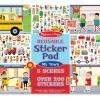 สมุดสติกเกอร์ลอกได้ Melissa & Doug Reusable Sticker Pad - My Town