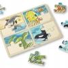 จิ๊กซอชิ้นใหญ่ T4-in-1 Sea Life Jigsaw Puzzle