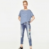 ZARA SLIM FIT LOW RISE JEANS