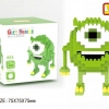 Nanoblock : Mike : Monster inc