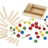 ตัวต่อไม้ Melissa and doug Construction Set in a Box