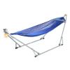 เครื่องไกวเปล Autoru รุ่น Baby Bright+ เปลญวนเด็ก Premium hammock (สีน้ำเงิน)