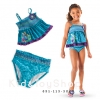 ชุดว่ายน้ำ Anna and Elsa Tankini Swimsuit for Girls 5/6[n]