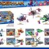 เลโก้จีน Sy 700 ชุดรวม Spider-Man
