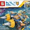 เลโก้จีน SY 910 Nexo Knights ชุด AXL'S RUMBLE MAKER