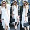 Lady Ribbon Online เสื้อผ้าออนไลน์ขายส่ง Normal Ally เสื้อผ้า NA11180816 &#x1F389Normal Ally Present elegance white women suit dress&#x1F389