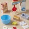 เครื่องตีแป้งจำลอง Wooden Make-a-Cake Mixer Set