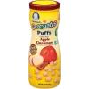 ขนมสำหรับเด็กGerber Graduates Puffs Cereal Snack,รสแอ๊ปเปิ้ลซินเนม่อน ++ พร้อมส่ง++