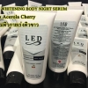 LED Whitening Body Night Serum Plus Acerola Cherry