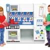 ชุดครัวไม้สำหรับเด็ก Melissa and doug Deluxe Kitchen