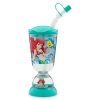 แก้วทรงโดม Ariel Snowglobe Tumbler With Straw [USA] [n]