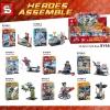เลโก้จีน SY 656 ชุด Heroes Assemble 8 กล่อง