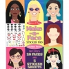 Melissa and Doug Make-A-Face Sticker Pad สมุดสติกเกอร์แต่งหน้าคน++ พร้อมส่ง++