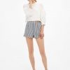 Bershka Tailored Bermuda shorts with metallic ring