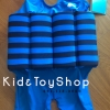 ชุดว่ายน้ำโฟมลอยน้ำสีน้ำเงิน Size 2-3 ปี
