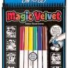 สมุดระบายสีพกพา Melissa and Doung Magic Velvet - Dinosaur