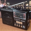 WAXIBA XB-324URT วิทยุพกพา FM AM SW MP3 สีดำ