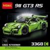 เลโก้จีน Decool 3368 ชุด Porsche 911 GT3 RS ( Green )