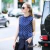 Lady Ribbon Online เสื้อผ้าออนไลน์ขายส่ง Normal Ally เสื้อผ้า,NA15220816 &#x1F389Normal Ally Present Polkadot print swing top and copper ammonia silk pant set&#x1F389 (เสื้อลายจุด , มีซับในอย่างดี + กางเกงผ้าซิลลินิน , มีซับในอย่างดี)