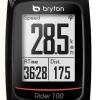 ไมล์จักรยานระบบ GPS Bryton Rider 100