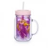 แก้วน้ำ2 ชั้น Rapunzel Jelly Jar with Straw [USA][n]