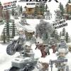 เลโก้จีน Doll ชุดทหารหิมะ D176 - 6 กล่อง