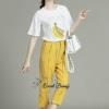 ชุดเซ็ทเสื้อ+กางเกง เสื้อผ้ายืด cotton