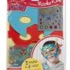 DIY หน้ากากซุปเปอร์ฮีโร่Simply Crafty Superhero Masks and Cuffs