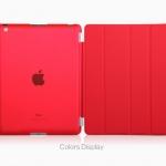 (สีแดง) Smart Cover แยกชิ้นส่วนออกจากกันได้ (เคส iPad 2/3/4)